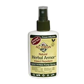 Tutti i terrain insetti repellente herbal Armor Spray, 8 oz