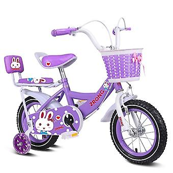 Children's Bicycle Balance Bike, Big Steel Wheel, Back Seat, Shopping Frame