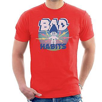 Trollen Bad Habits Lightning Men's T-Shirt