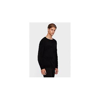 ARMANI EXCHANGE Coton Noir Knitwear Jumper