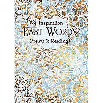Últimas Palavras: Poesia e Leituras (Verso para Inspirar)