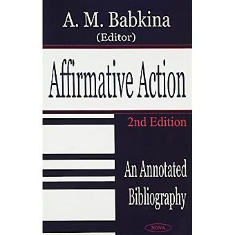 Affirmative Action : An Annoted Bibliography