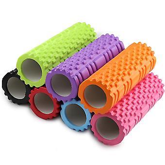 Yoga Column Fitness Pilates Foam Roller Blocks Train Gym Massage Grid Trigger