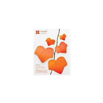 Diy Realistic Decoration Leaves Notepads, Convenient Sticky Notes Paper, Memo