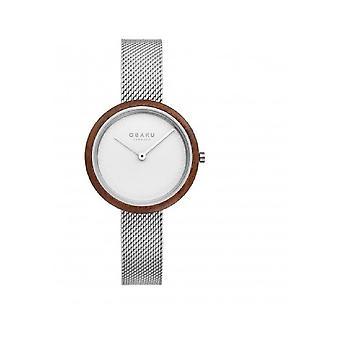 Obaku Wristwatch Men's TRAE LILLE STEEL V245LXCIMC