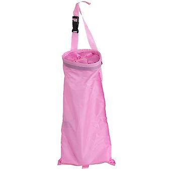 1pcs Auto Dustbin Garbage Rubbish Storage Container Hang Litter Bag Waste Bin