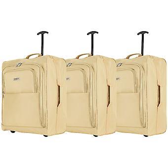 Valise cabine Baudwin 56x45x25cm x 3