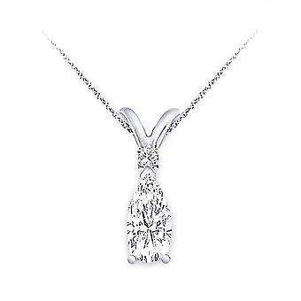0,50 Karátový diamantový prívesok