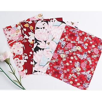 Cotton Printed Patchwork Fabric - Quilting Material For Sewing Dolls And Bags