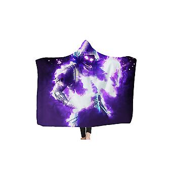 Fortnite Wrap Blanket Cape for Kids and Adults