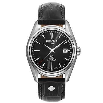 Roamer 210633 41 55 02 Searock Classic Black Dial Wristwatch