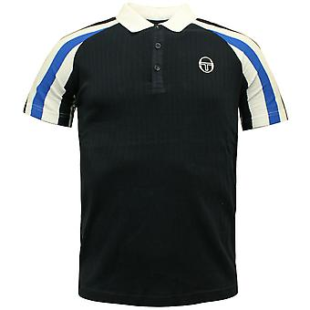 Sergio Tacchini Mens Blow Polo Top Stripe T-Shirt Smart Casual 37569 22 R3B