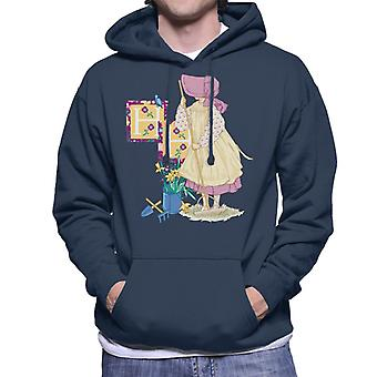 Holly Hobbie Gardening Men's Hooded Sweatshirt