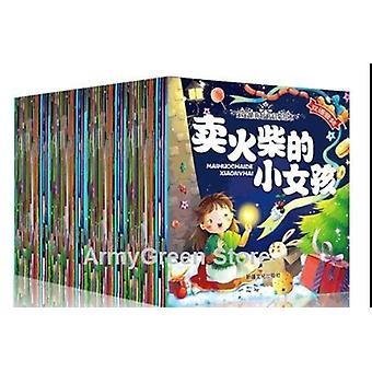 60 Books Parent Child Kids Baby Classic Fairy Tale Story Bedtime Stories