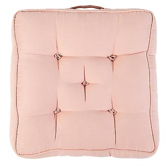 """Pink Pack of 1 Cotton Armchair Booster Cushion 4"""" Thick Seat Pad"""