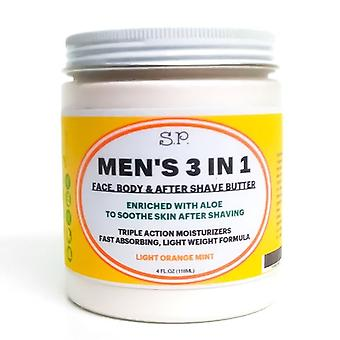 Men's 3 In 1 Orange Mint Körperbutter