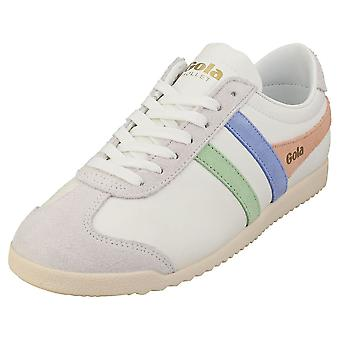 Gola Bullet Trident Womens Fashion Trainers in White Multicolour