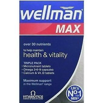 Vitabiotics Wellman Max Capsules & Tablets 28+28+28