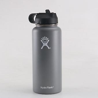 Vacuum Insulated Flask, Stainless Steel Water Bottle, Wide Mouth, Outdoors