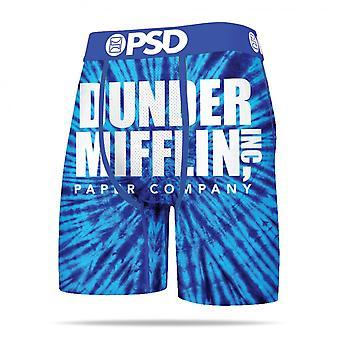Dunder Mifflin Tie Dye Boxer Briefs