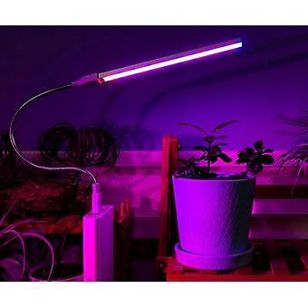 Led Usb Grow -lamppu Full Spectrum Dc 5v 3w 5w Sopiva Kotitoimisto Indoor Young