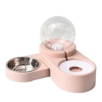 Bubble Pet Bowls Food Automatic Feeder