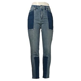 Martha Stewart Mujeres's Jeans Panel Sellado 5-Pocket Tobillo A351150
