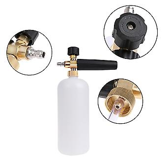 800ml Snow Foam Lance Washer Bottle Quick Connector High-pressure Car Wash Jet