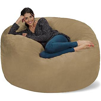 Sack Bean Bag Chair Giant Memory Foam Furniture Living Room Big Sofa With Soft