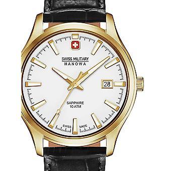 Reloj masculino Militar Suizo Hanowa 06-4303.02.001, Cuarzo, 40mm, 10ATM