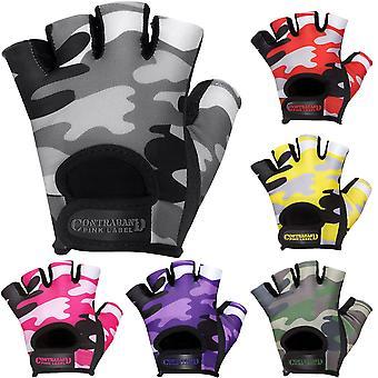 Contraband Sports 5217 Rosa Label Camo Gewicht Heben Handschuhe
