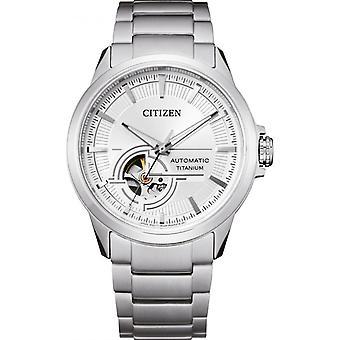 Reloj masculino CITIZEN MONTRES NH9120-88A - Pulsera de titanio gris