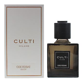 Culti Milano Decor Diffuser 250ml - Ode Rosae - Sticks Not Included In The Box