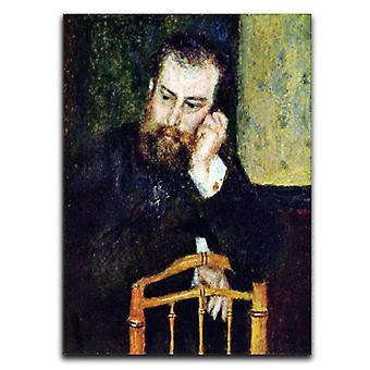 Taidemaalari Alfred Sisleyn muotokuva 1 kangas