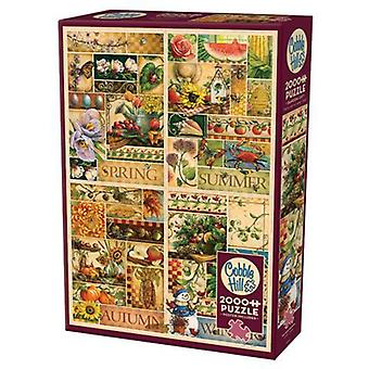 Cobble hill puzzle - the four seasons - 2000 pc