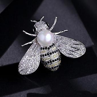 Híres Márka Design Rovar sorozat Bross nők finom kis méh brossok