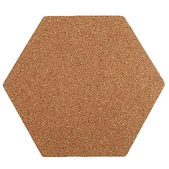 Self-adhesive Cork Board Tiles, Office, Home, Wood Photo Background, Hexagon