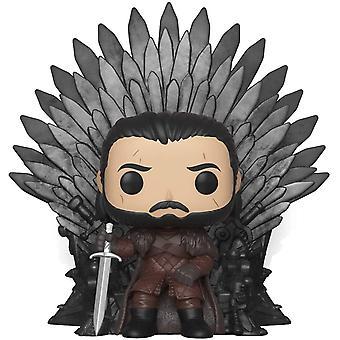 FengChun Deluxe: Game of Thrones S10: Jon Snow sitzt auf eisernem Thron, Mehrfarben ,Einheitsgre