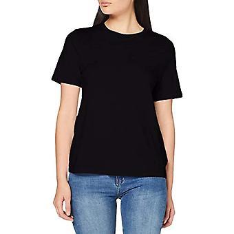 United Colors of Benetton 3P1ZE16B4 T-shirt, Black (Black 100), S Woman