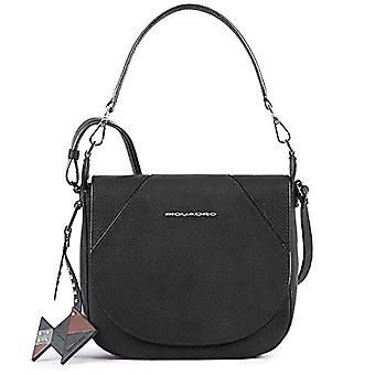 Piquadro Muse Messenger Bag, 24 cm, Negro