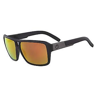 Dragon Dr The Jam Ll Mi Ion Sunglasses, Matte Black, 60mm, 13mm, 135mm Men's