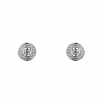 Heart Chakra / Anahata Boucles d'oreilles - Argent - Bijoux cadeaux pour femmes de Lu Bella