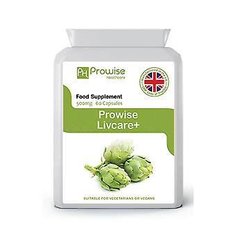 Livcare+ 60 Capsules | Suitable For Vegetarians & Vegans | Made In UK by Prowise