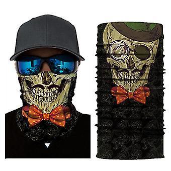 Başörtüsü maske tırmanma çeşitli sihirli dikişsiz kafatası açık binicilik spor