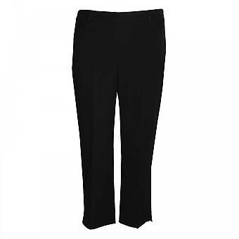 Frank Lyman pantalones de cultivo liso a medida de las mujeres