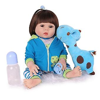 17 Inch/45cm realistic made baby dolls girl toys for kids pl-1152