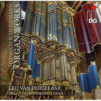 H. Scheidemann - Heinrich Scheidemann: Organ Works [SACD] USA import