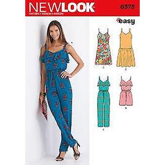New Look Couture Modèle 6373 Misses Combinaison Romper Robe Taille A 8-20