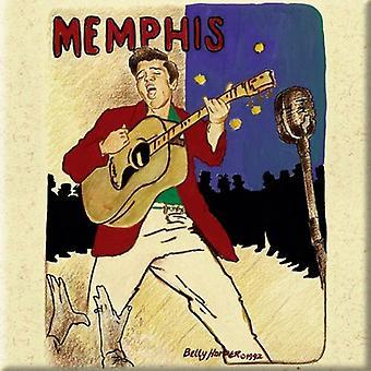 Elvis Presley - Memphis Kjøleskap Magnet