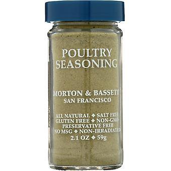 Morton & Bassett Ssnng Poultry, Case of 3 X 2.1 Oz